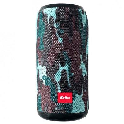 Parlante Kolke Bump Inalámbrico Kpp-324 - Verde Camufla al mejor precio solo en loi