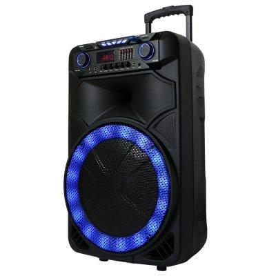 Parlante Wave Plus con Micrófono Bluetooth USB 450W al mejor precio solo en loi