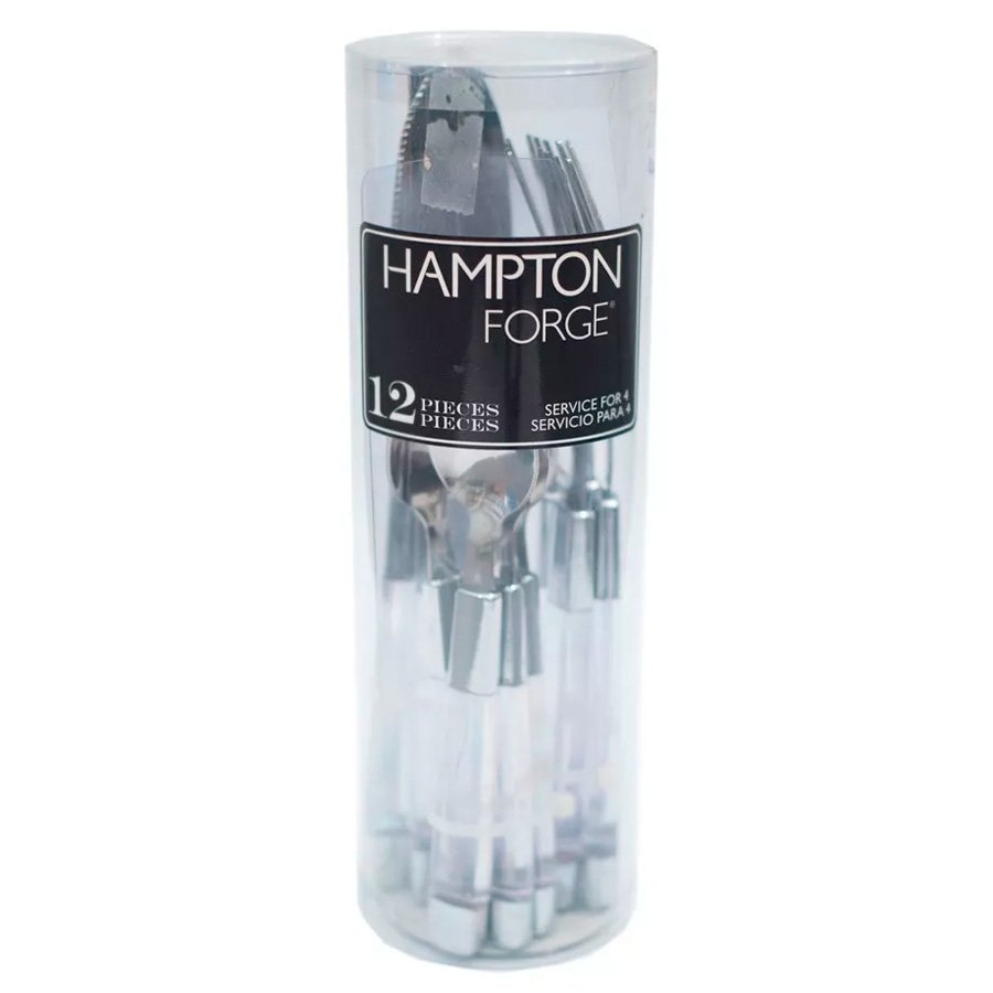 Set de 12 Cubiertos Hampton Forge Clarity al mejor precio solo en LOI