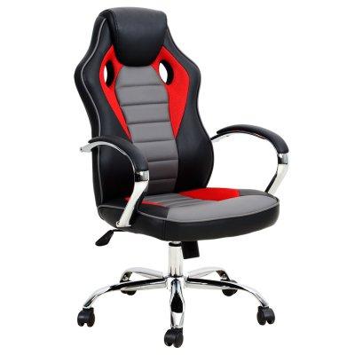 Silla Gamer Aerodinámica 5029 Rojo c/ Negro al mejor precio solo en loi