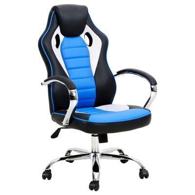 Silla Gamer Aerodinámica 5029 Azul c/ Negro al mejor precio solo en loi
