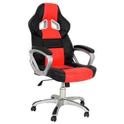 Silla Para Oficina Y Hogar Donna Race Gamer Pro Roja al mejor precio solo en loi