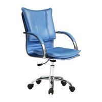 Silla Donna Rainbow en color Azul Diseño Italiano al mejor precio solo en loi