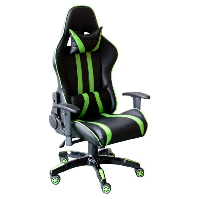 Silla Gamer Reclinable Verde con Negro NH168 al mejor precio solo en loi