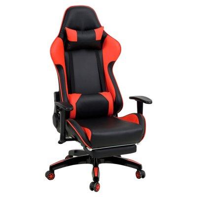 Silla Gamer Reclinable Y008 Rojo c/ Negro al mejor precio solo en loi