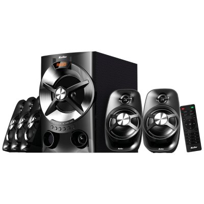 Parlantes Home Theatre 5.1 Gamer Kolke 90wRMS Bluetooth al mejor precio solo en loi