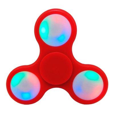 Fidget Spinner con Luz en Rojo