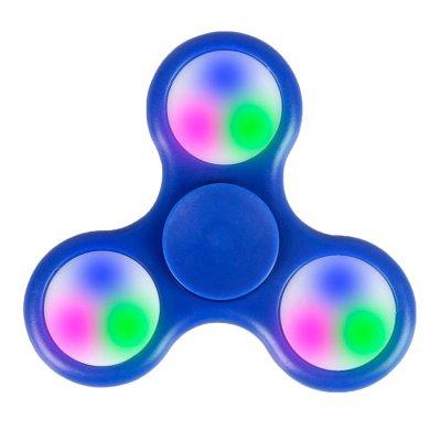 Fidget Spinner con Luz en Azul