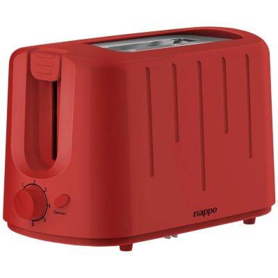 Tostadora Doble Nappo 850w 6 Niveles de Tostado - Rojo al mejor precio solo en loi