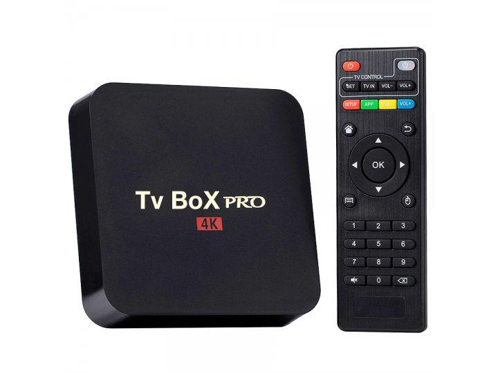 Smart TV Box PRO 4K Quad Core 1GB RAM Android 7.1.2 al mejor precio solo en loi
