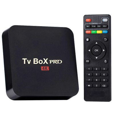 Smart TV Box PRO 4K Quad Core 1GB RAM Android 7.1.2 al mejor precio solo en loi