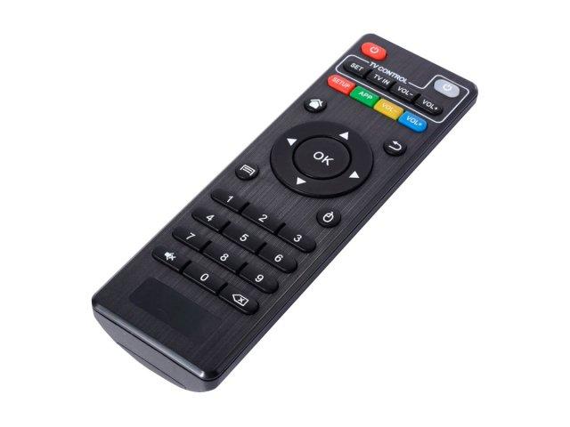 Smart TV Box Quad Core con Teclado PAD Inalámbrico al mejor precio solo en loi